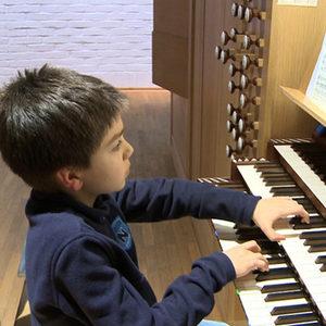 """Der junge Organist Christoph Preiß ist einer der Protagonisten des """"Jugend musiziert""""-Films. Foto: nmzMedia"""